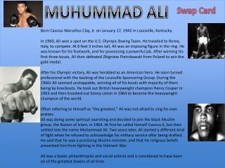 MUHUMMAD ALI