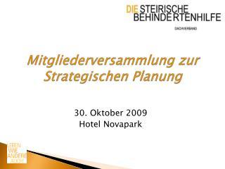 Mitgliederversammlung zur Strategischen Planung