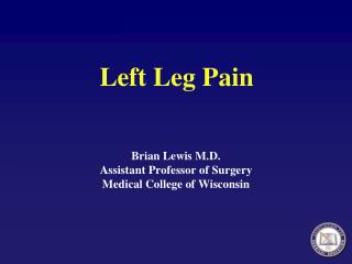 Left Leg Pain