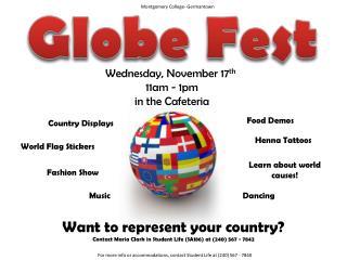 Globe Fest