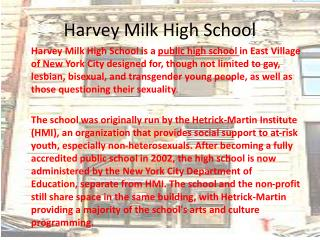 Harvey Milk High School
