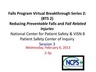 Wednesday, February 6, 2013 2-3p