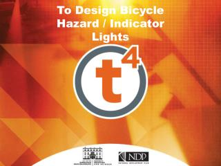 To Design Bicycle  Hazard / Indicator Lights