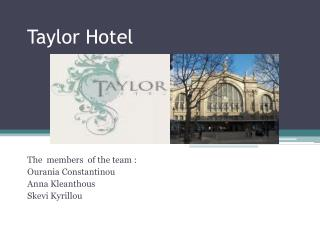Taylor Hotel