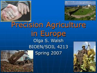 Precision Agriculture in Europe