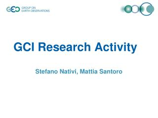 GCI Research Activity