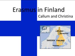 Erasmus in Finland Callum  and Christina