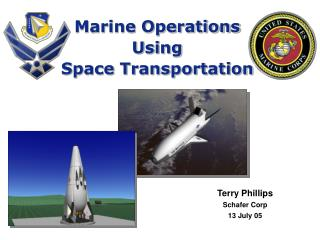 Marine Operations Using Space Transportation