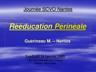 Journée SCVO Nantes