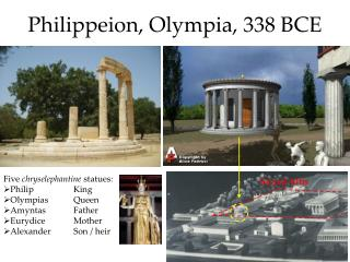 Philippeion , Olympia, 338 BCE