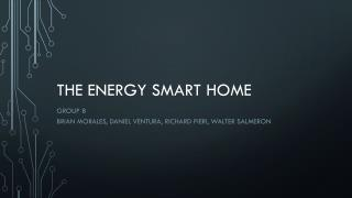 The Energy Smart Home