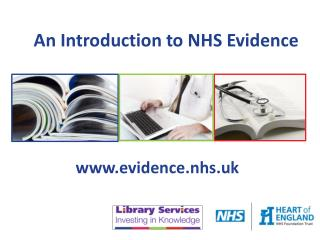 An Introduction to NHS Evidence