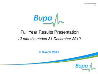 Full Year Results Presentation