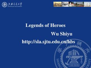 Legends of Heroes