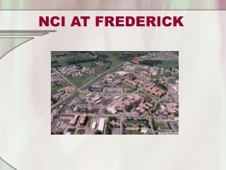 NCI AT FREDERICK