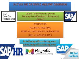 sap uk payroll online training india