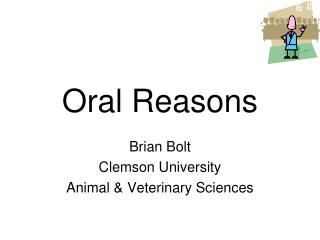 Oral Reasons