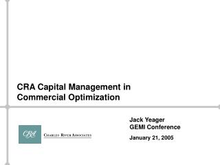 Jack Yeager GEMI Conference