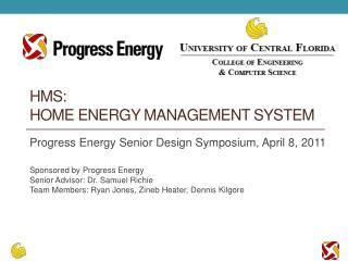 HMS:  Home Energy management System