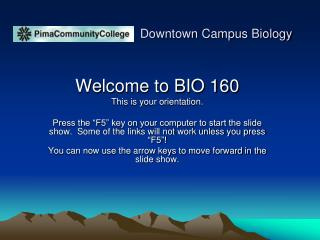 Downtown Campus Biology