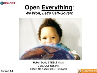 Open  Everything : We Won, Let's Self-Govern