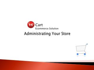 Administrating Your Store
