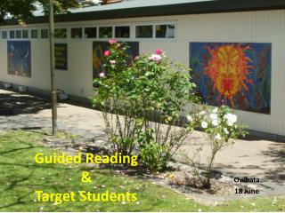 Guided Reading & Target Students