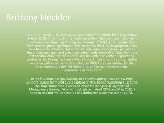 Brittany Heckler