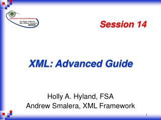 XML: Advanced Guide
