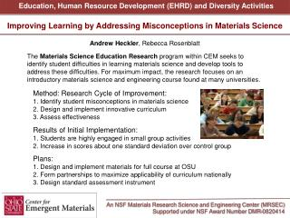 An NSF Materials Research Science and Engineering Center (MRSEC)