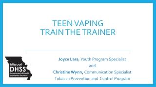 100 Tobacco-Free Schools