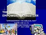 THE 360 DEGREE EMPOWERED CHRISTIAN