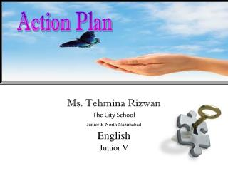 Ms.  Tehmina Rizwan The City School Junior B North  Nazimabad English  Junior  V