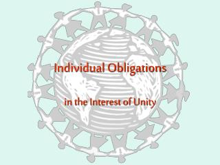 Individual Obligations