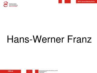 Hans-Werner Franz
