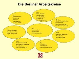 Die Berliner Arbeitskreise