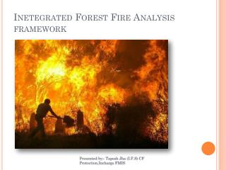 Inetegrated  Forest  Fire Analysis framework