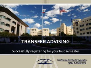 Transfer advising
