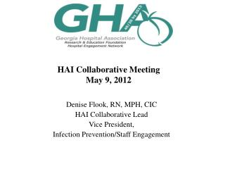 HAI Collaborative  Meeting May 9 ,  2012