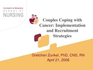 Couples Coping with Cancer: Implementation and Recruitment Strategies