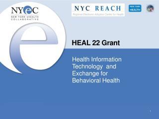 HEAL 22  Grant