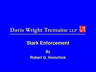 Stark Enforcement