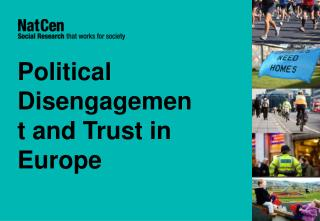 Political Disengagement and Trust in Europe