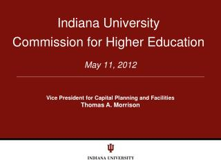 Indiana University Commission for Higher Education