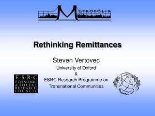 Rethinking Remittances