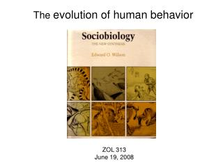 The evolution of human behavior