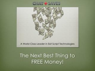 The Next Best Thing to FREE Money!