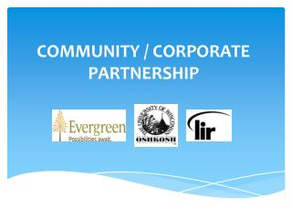 COMMUNITY / CORPORATE PARTNERSHIP