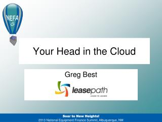 Your Head in the Cloud