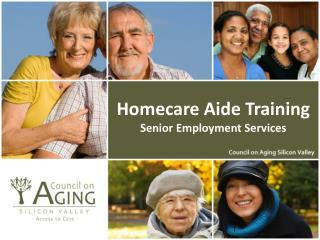 Homecare Aide Training Senior Employment Services